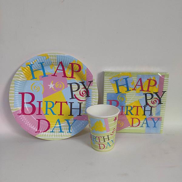 派对套装-生日快乐