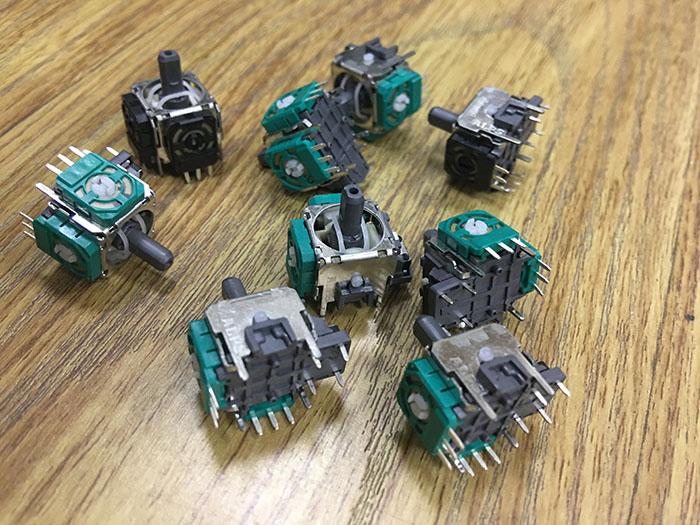 3D摇杆电位器,alps摇杆电位器